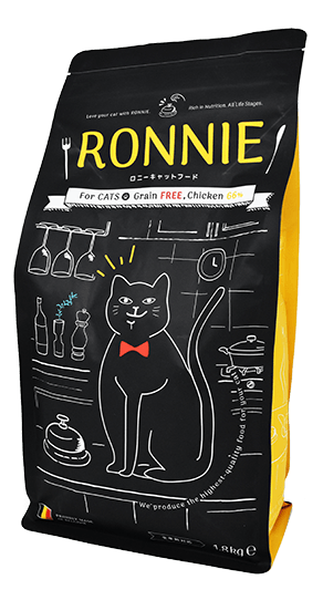 RONNIE CAT FOOD Package
