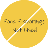 Food Flavorings Not Used
